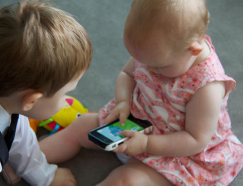 Letting A Baby Play On An iPad Might Lead To Speech Delays